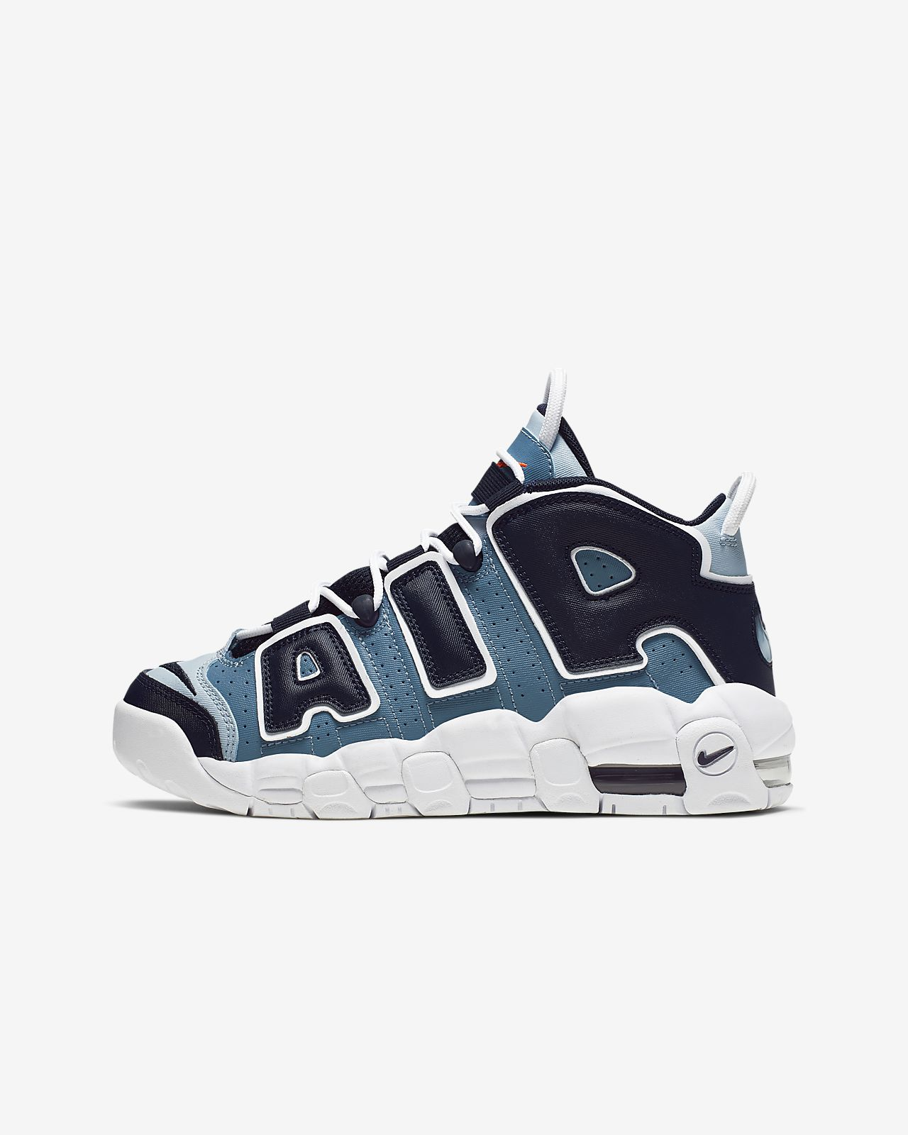 free shipping 627a0 434fa Nike Air More Uptempo Big Kids' Shoe