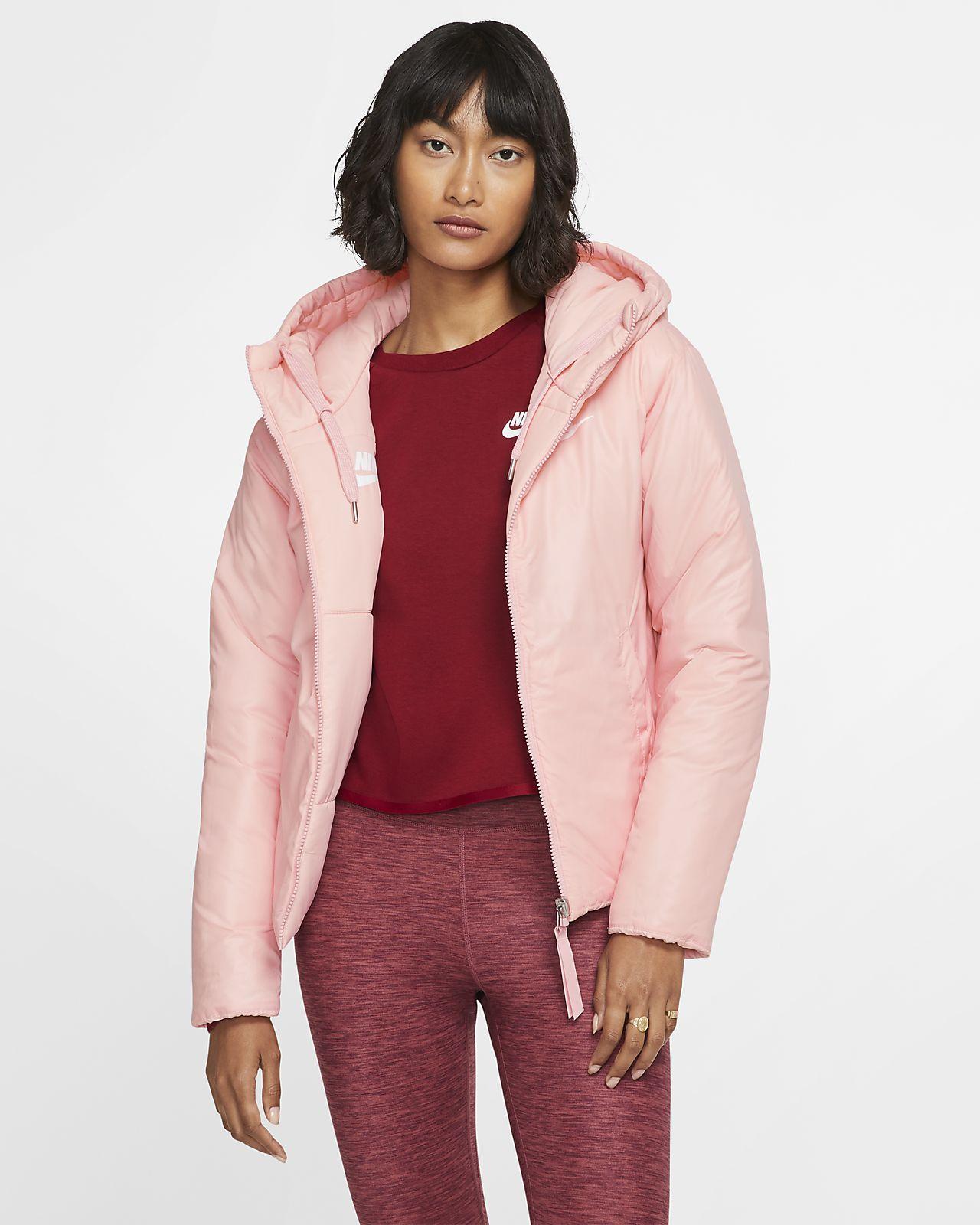 Nike Sportswear Damen Synthetic Fill Jacke Wendbar Storm Pink