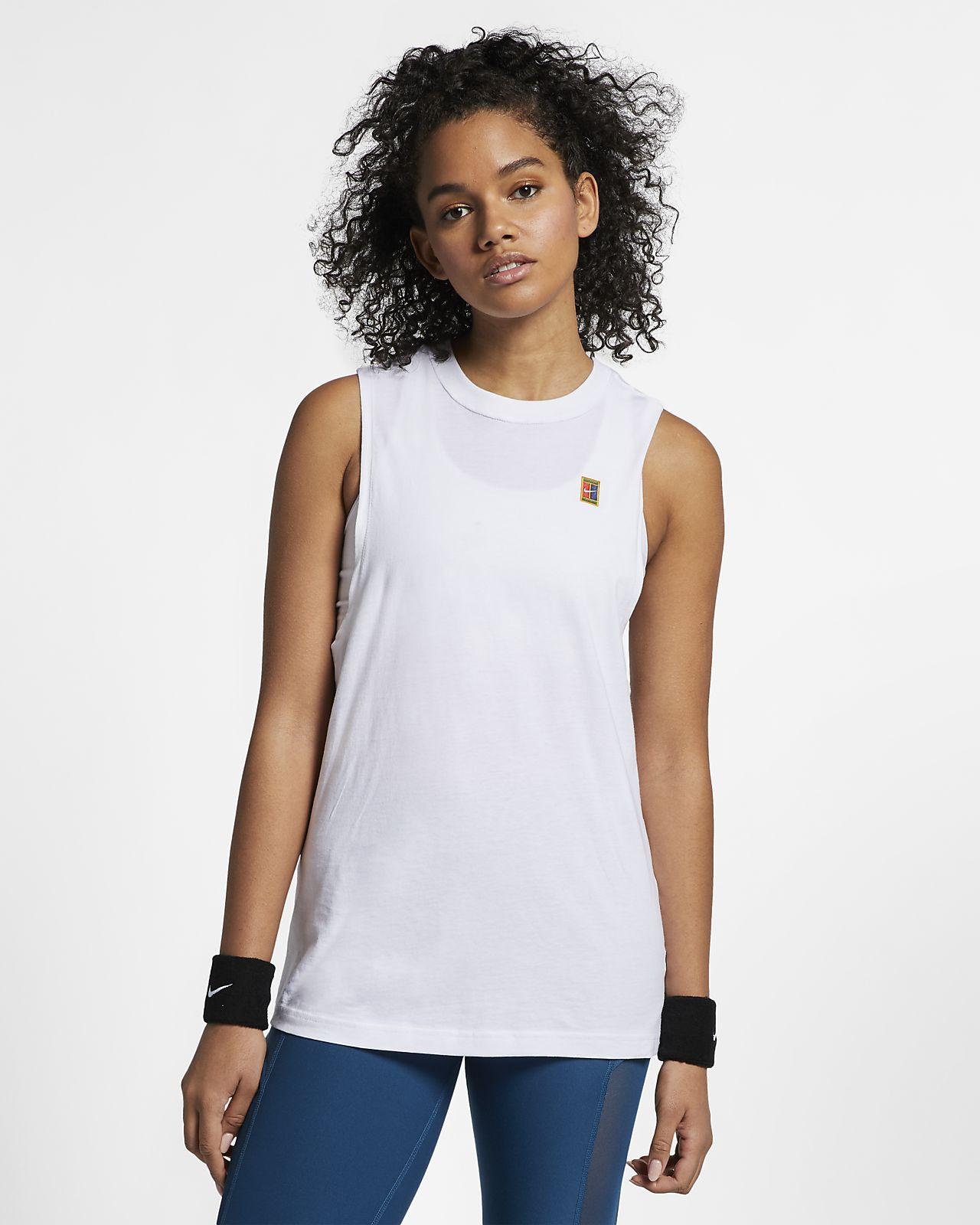 Camisola de ténis sem mangas NikeCourt para mulher