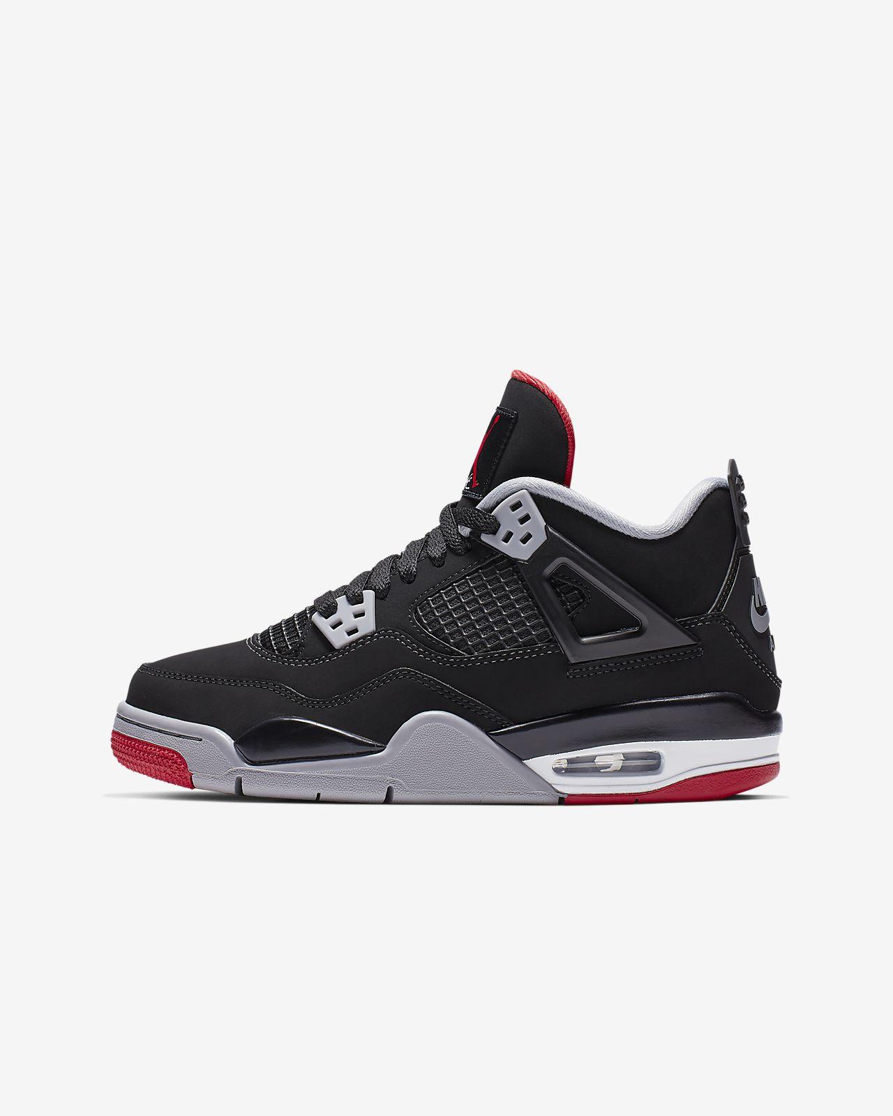 Air Jordan 4 Retro 大童鞋款