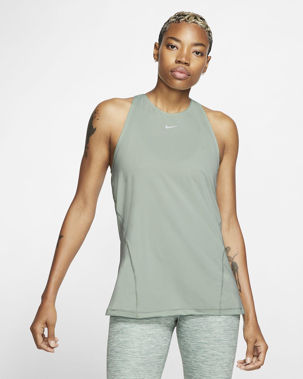 Nike Pro Mesh Tanktop für Damen