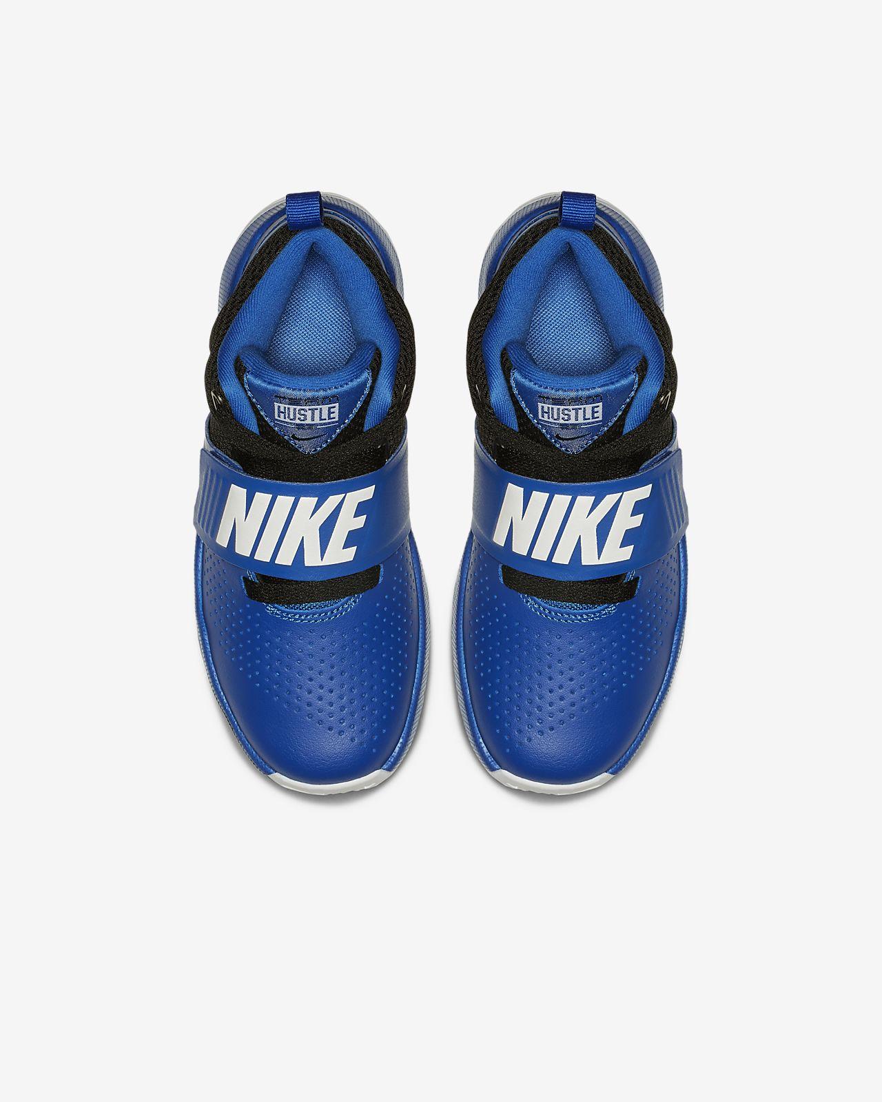 5f586a070 Nike Team Hustle D 8 Little Kids' Basketball Shoe. Nike.com