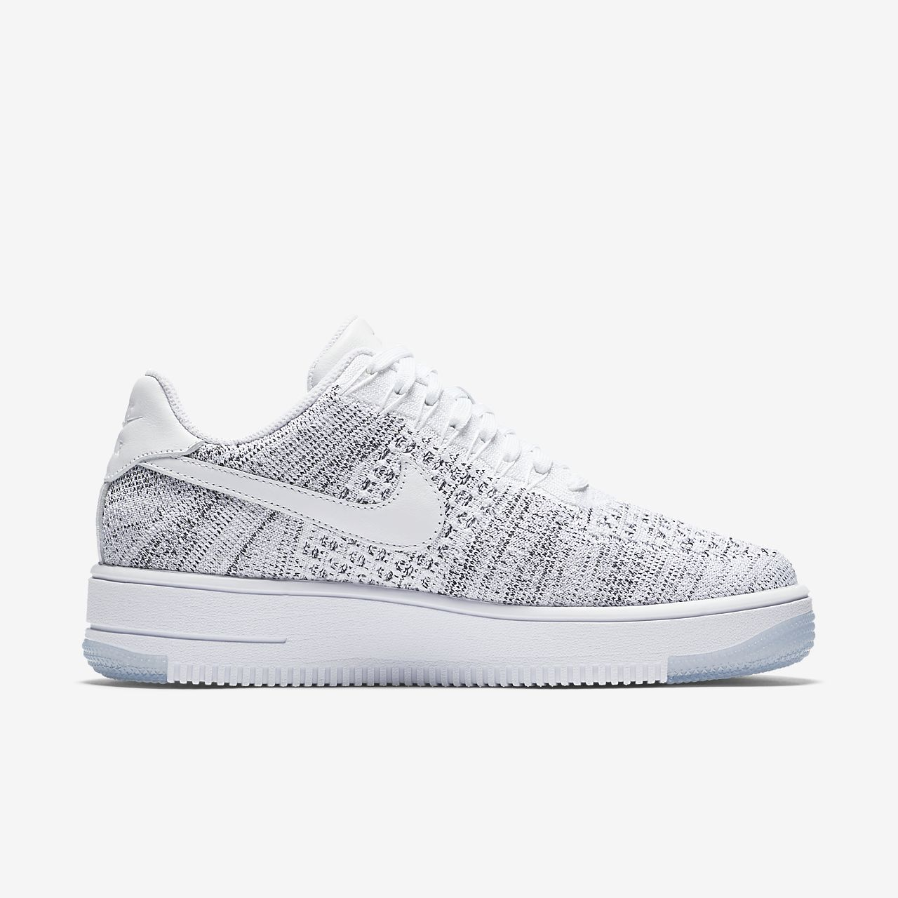 air force 1 flyknit black and white nz