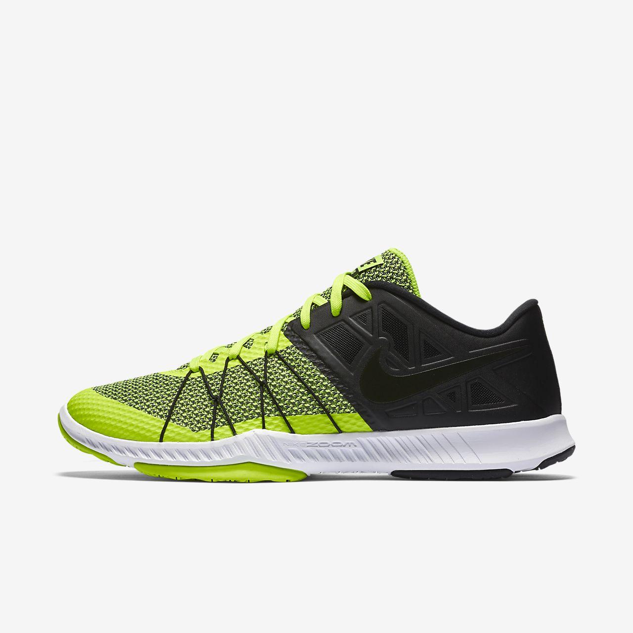 Mens Nike Zoom Train Incredibly Fast Black Green White Black Sneakers Z60498