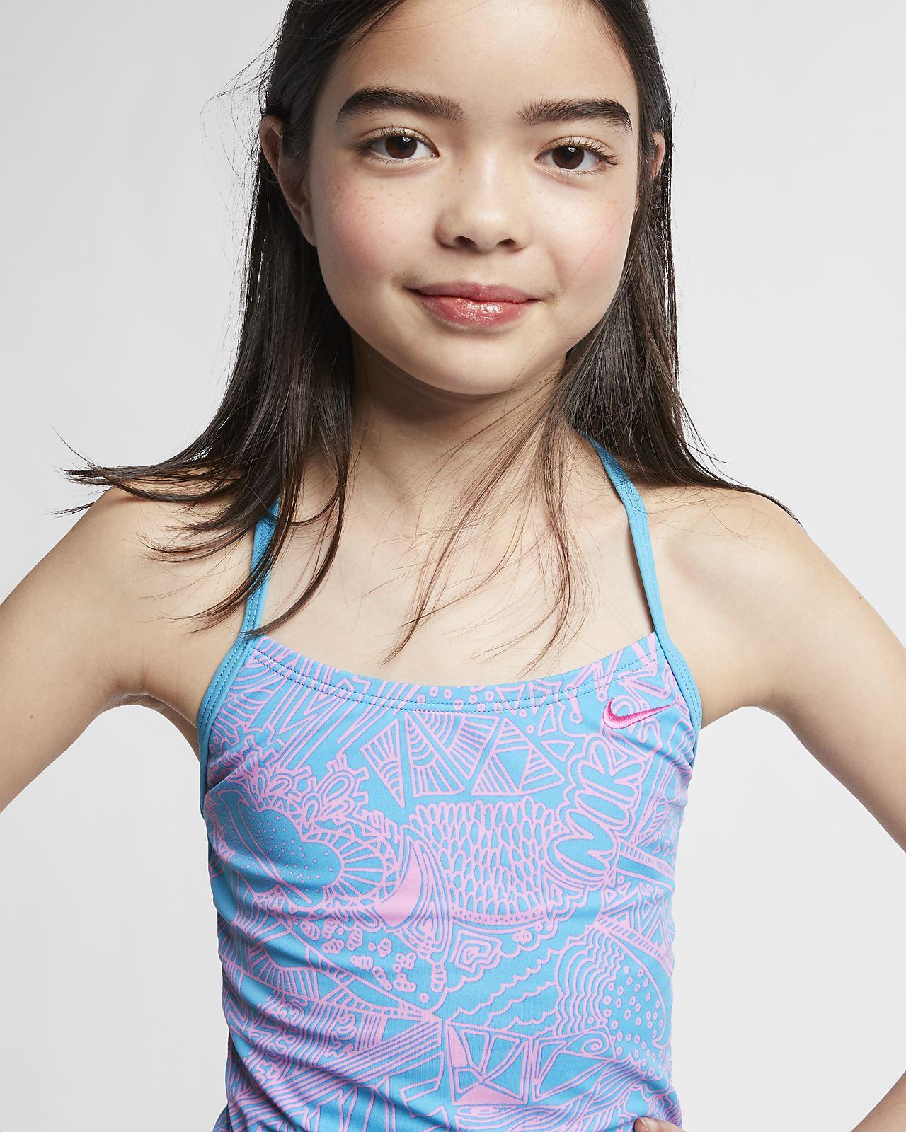 Nike Doodle T-Back Big Kids' (Girls') Tankini Set