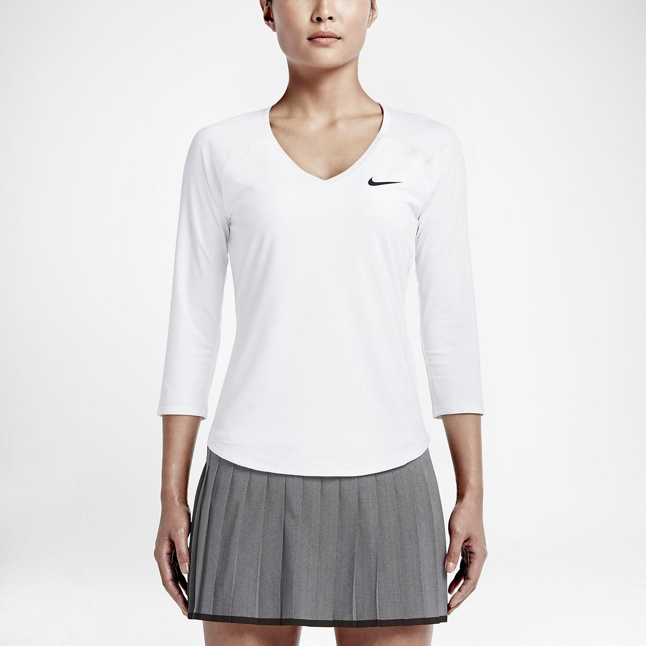 NikeCourt Pure női teniszfelső