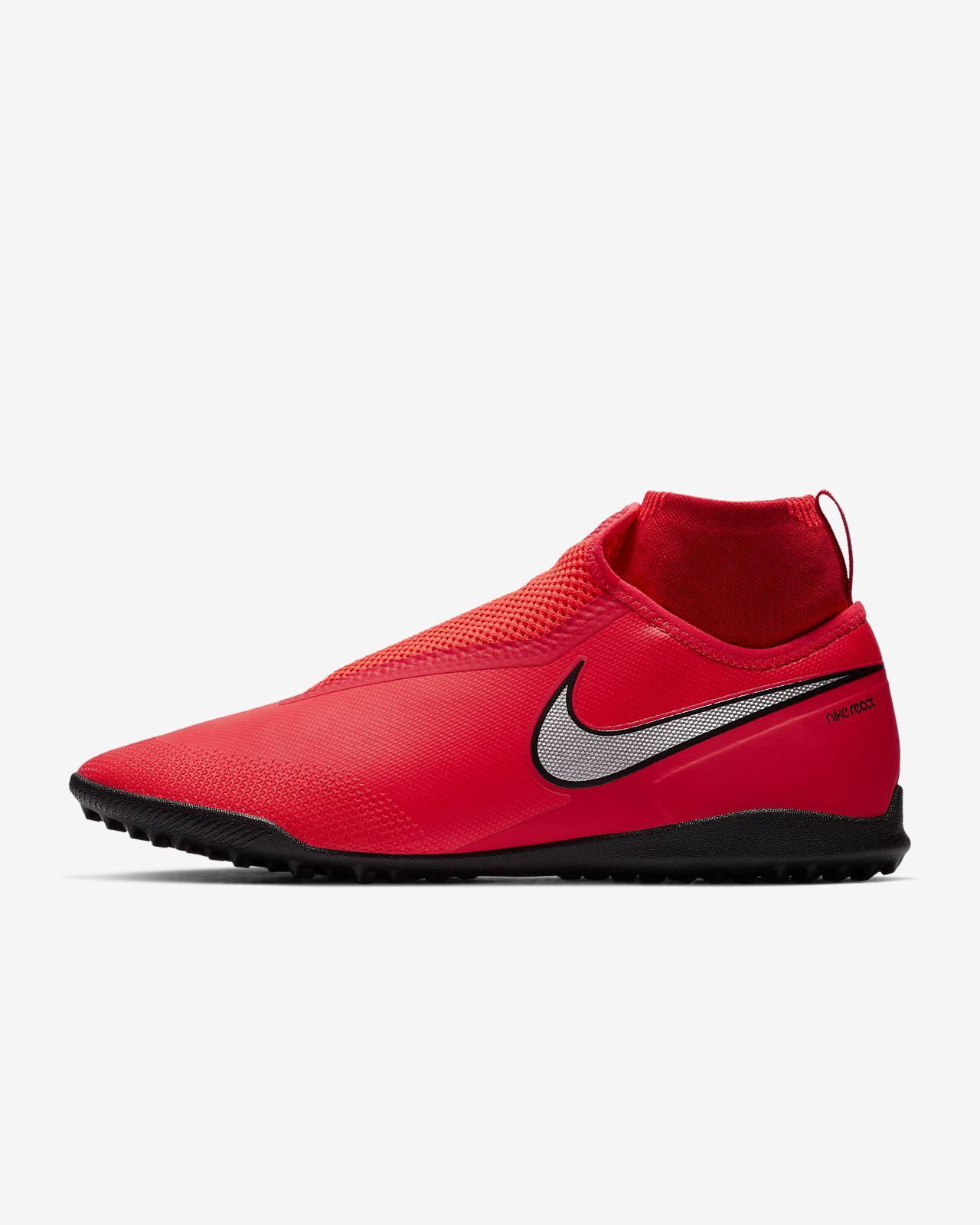 new arrival f5014 5e399 Turf Football Shoe. Nike React PhantomVSN Pro Dynamic Fit Game Over TF