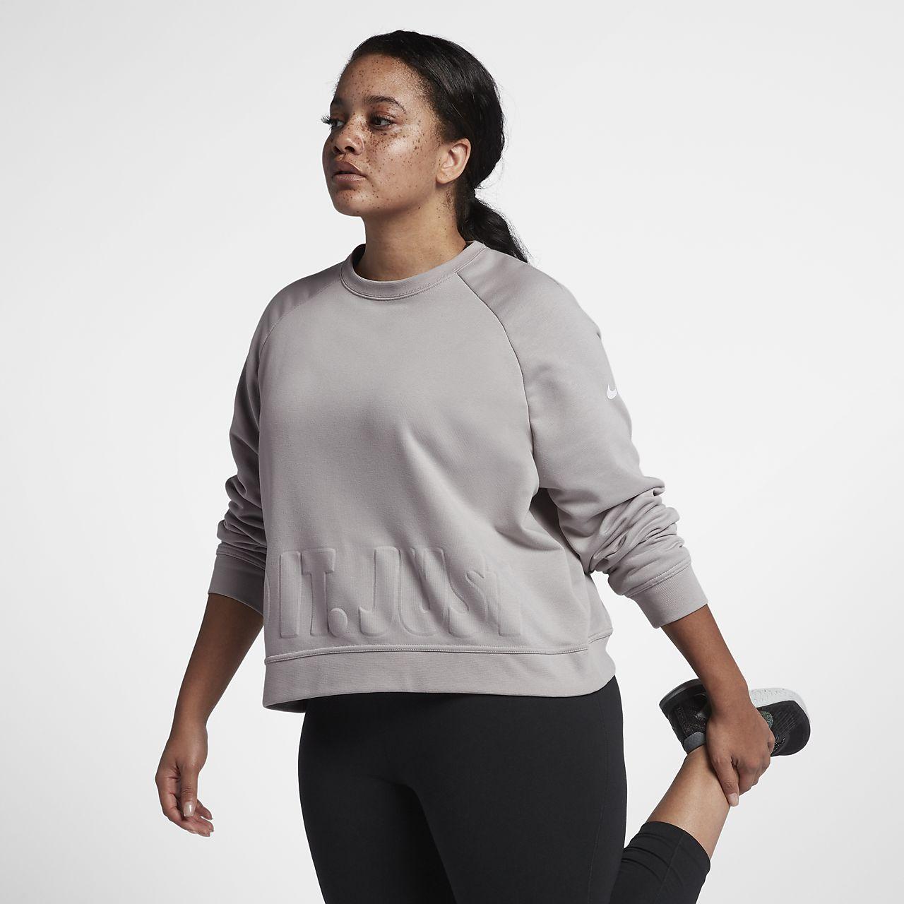 ... Nike Versa (Plus Size) Women's Long-Sleeve Training Top