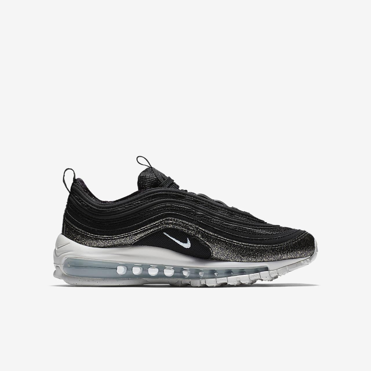 scarpe nike air max 97 bambino black