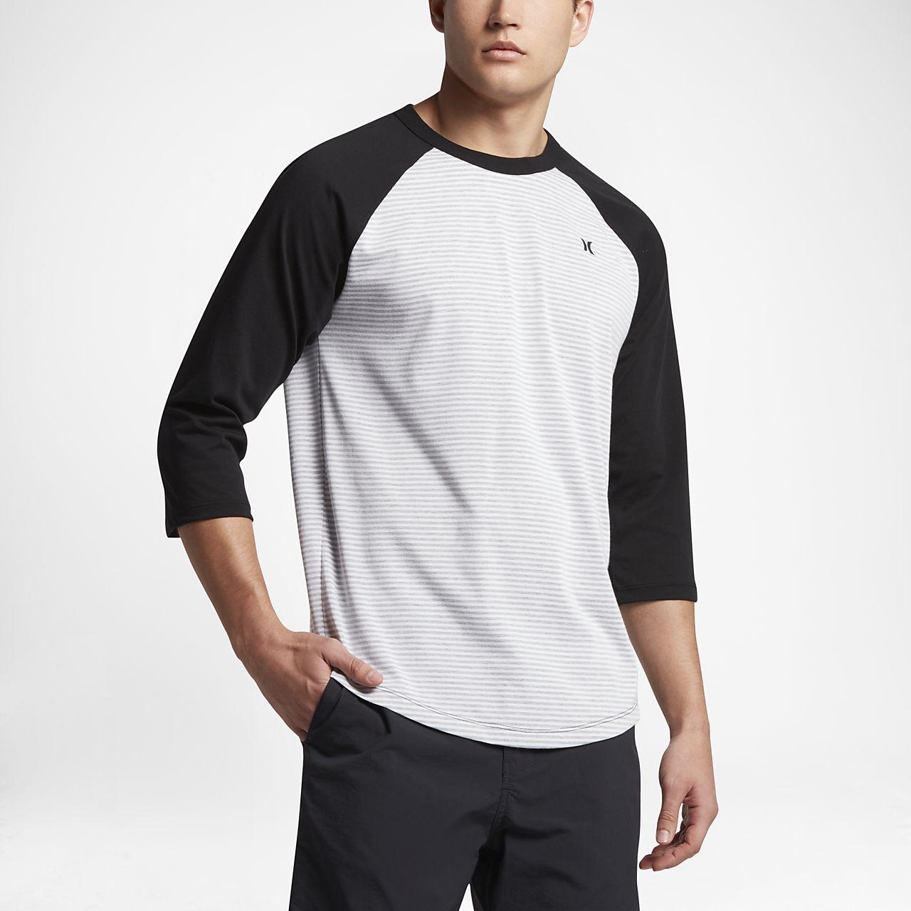 ... Hurley Stanley Raglan Men's 3/4 Sleeve T-Shirt