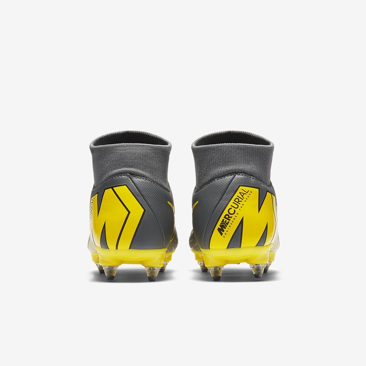 d09380aa ... Футбольные бутсы для игры на мягком грунте Nike Mercurial Superfly VI  Academy SG-PRO