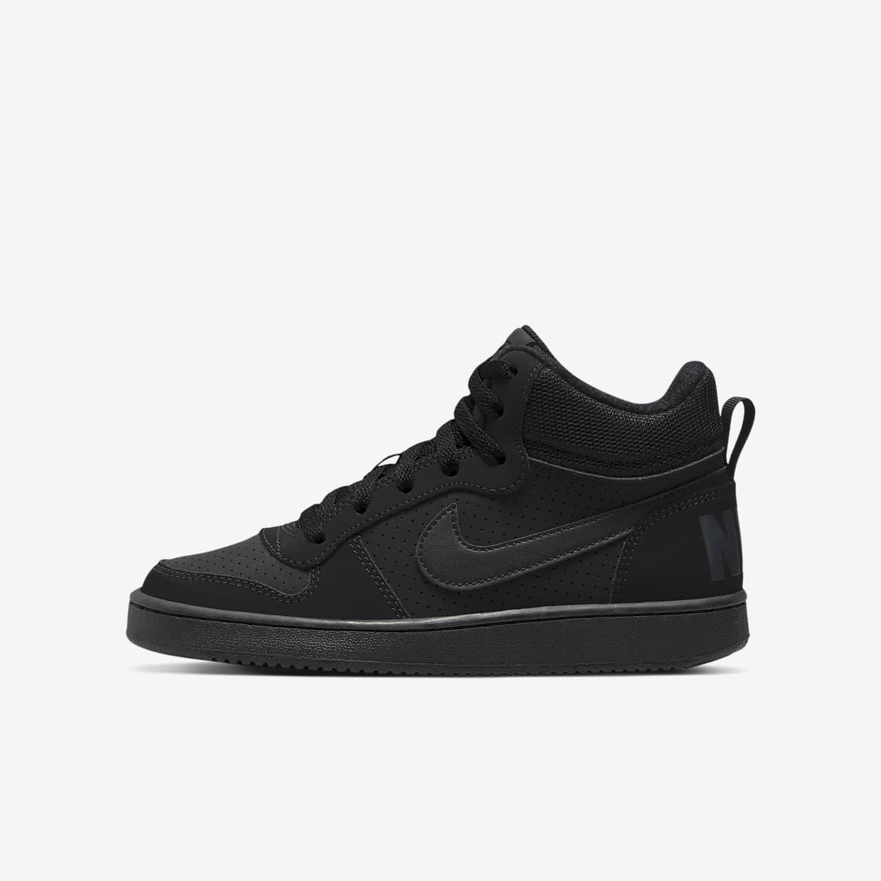 Nike Court Borough Mid Kinderschoen