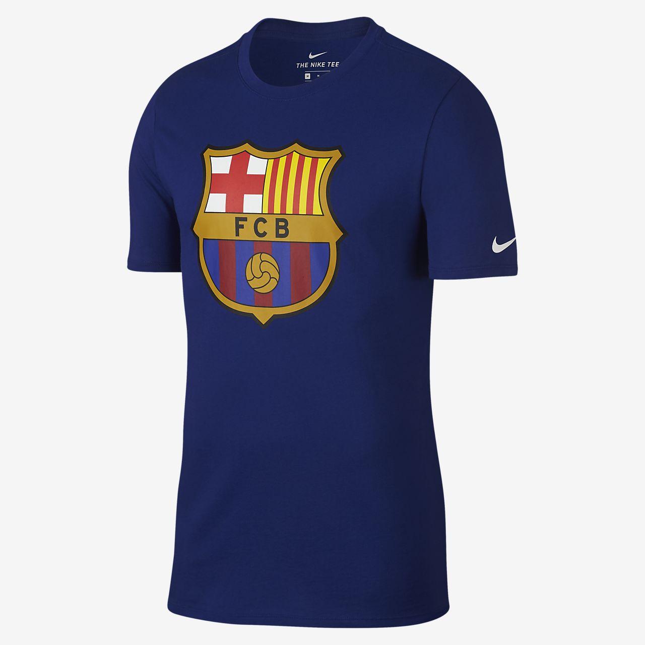 Fc Barcelona Crest Men S T Shirt Nike Com