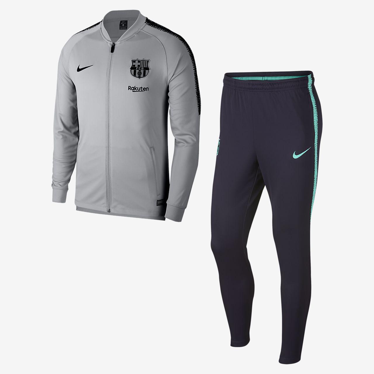 FC Barcelona Dri-FIT Squad Chándal de fútbol - Hombre. Nike.com ES 48c9c20c574