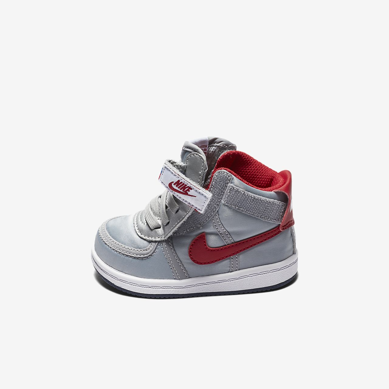 Nike Woman Vandal Low White / Red! New!! Size 6 (NO00028)