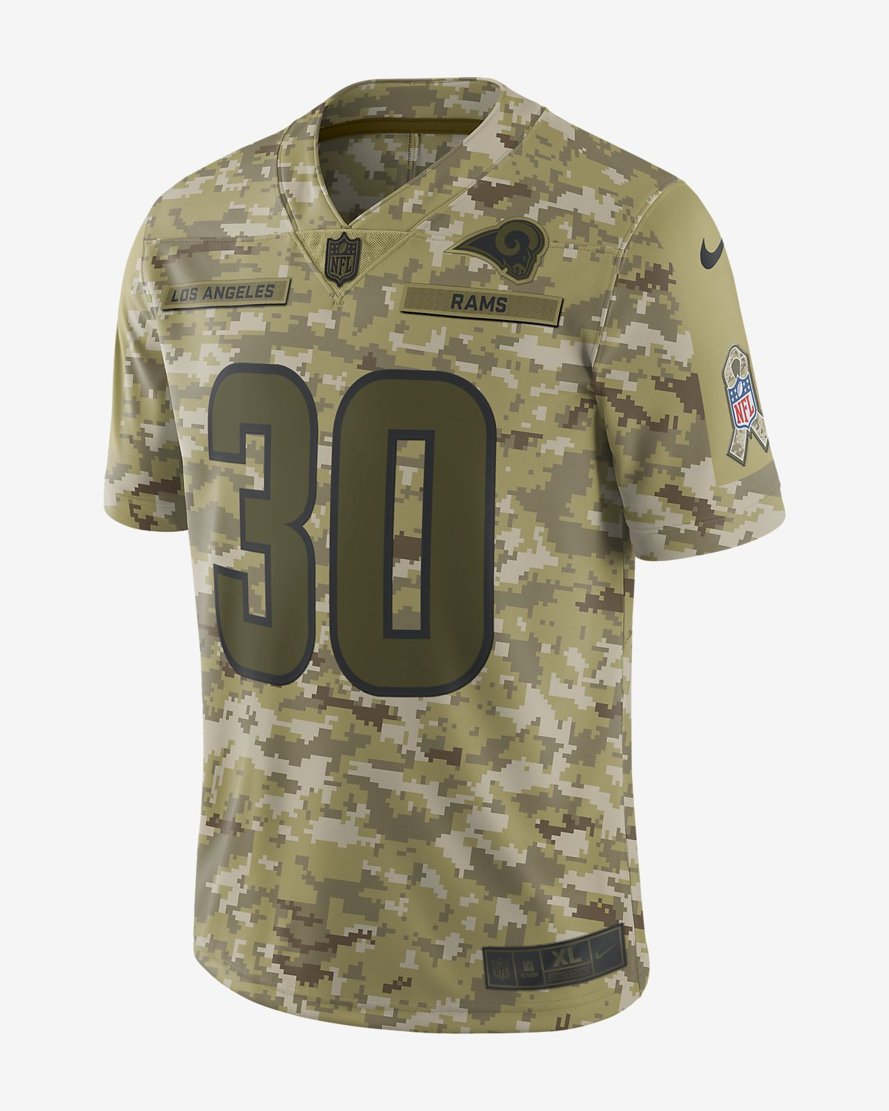 ... sweden nfl los angeles rams salute to service limited jersey todd  gurley mens football jersey 5f53f 466507f3f