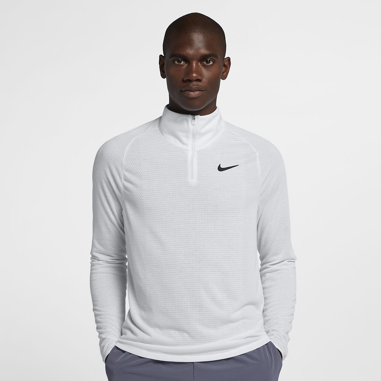 NikeCourt Dri-FIT Challenger Part superior de tennis de mitja cremallera - Home