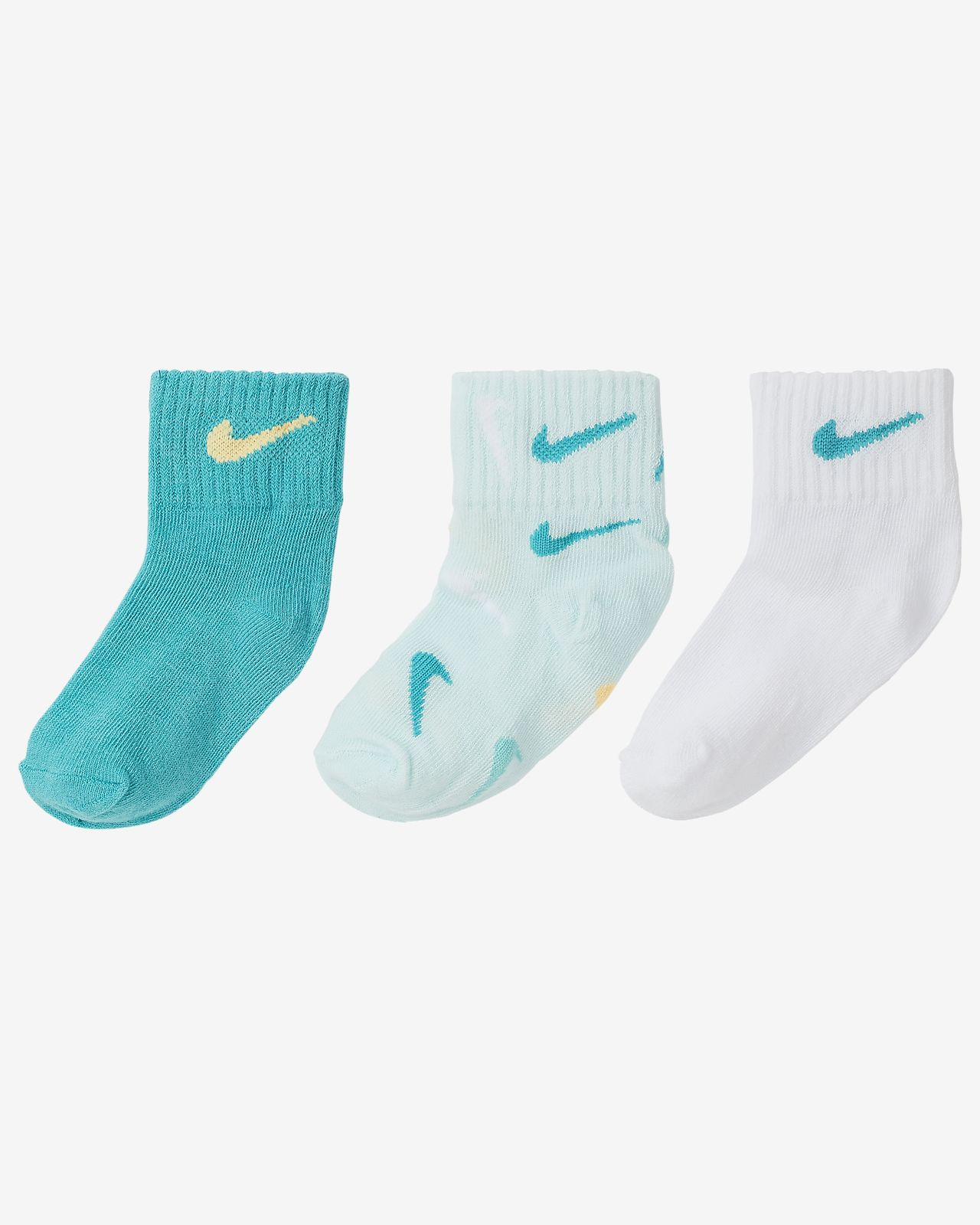 Nike Gripper Toddler Socks (3 Pairs)
