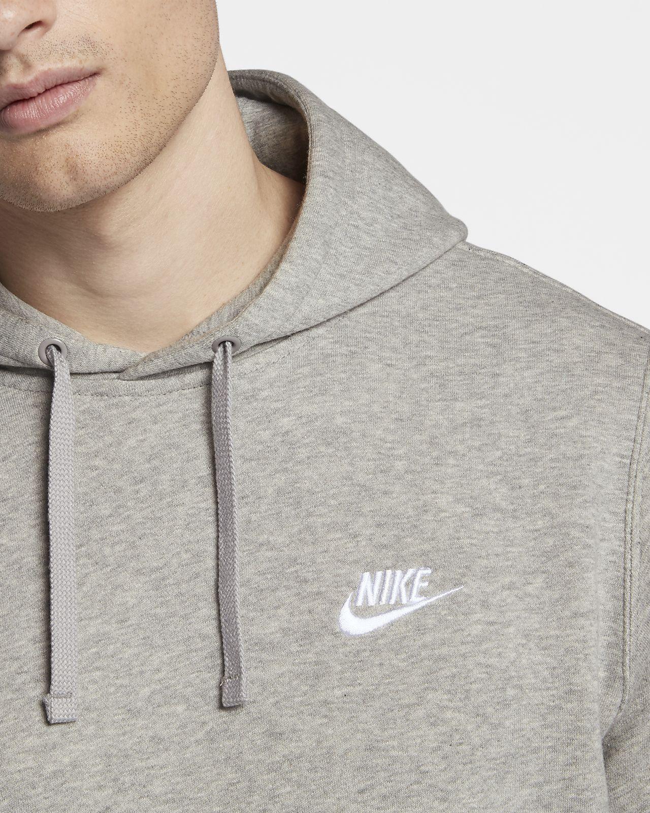 sweatshirt Nike Sportswear Club Zip BB 010BlackBlack
