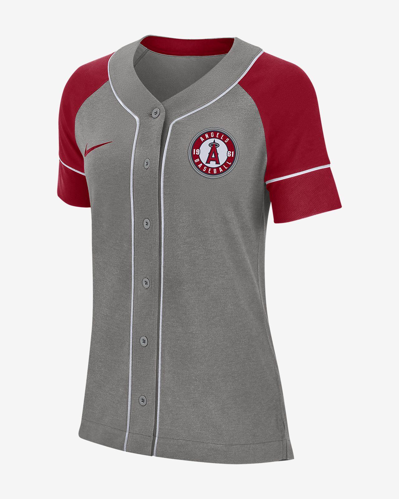 Nike Dri-FIT (MLB Angels) Women s Baseball Jersey. Nike.com 8a843a6d7