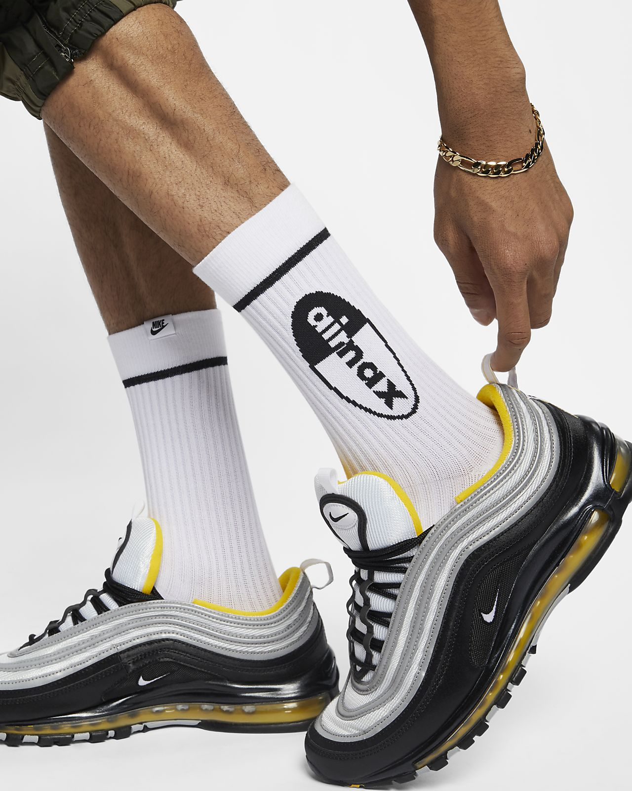 Calcetines deportivos Nike Air Max (2 pares)