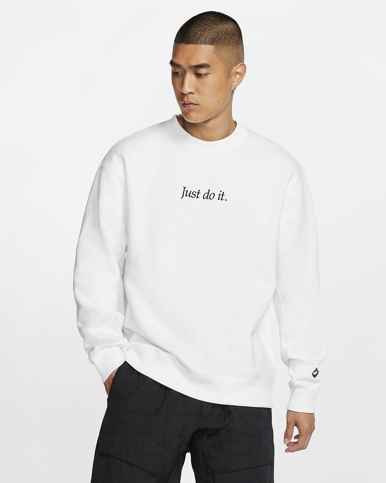Haut en tissu Fleece Nike Sportswear JDI Heavyweight pour Homme