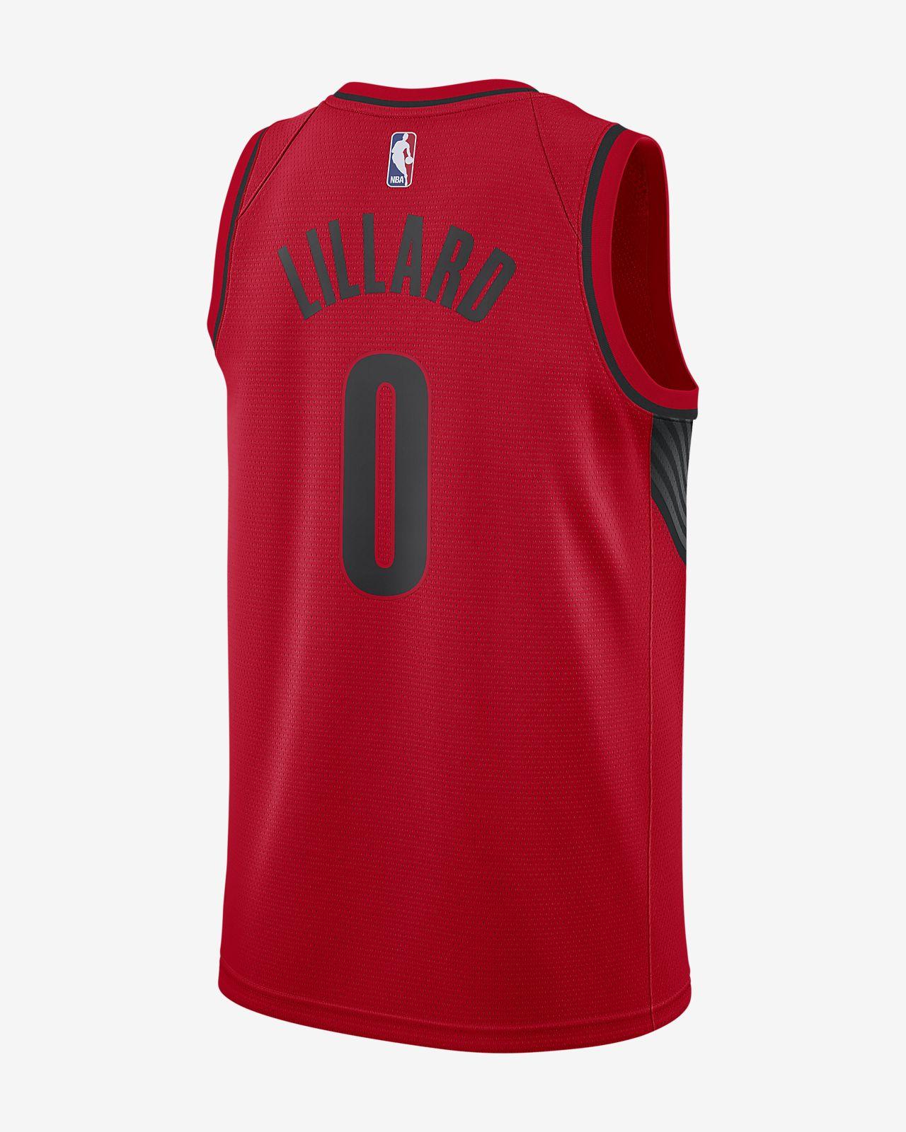 1e47b96bc7e ... Damian Lillard Statement Edition Swingman (Portland Trail Blazers)  Men's Nike NBA Connected Jersey