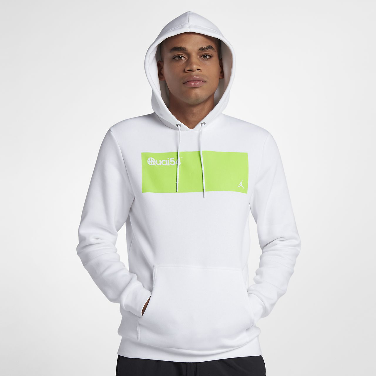 Jordan Sportswear Quai 54 Yünlü Erkek Kapüşonlu Sweatshirt'ü