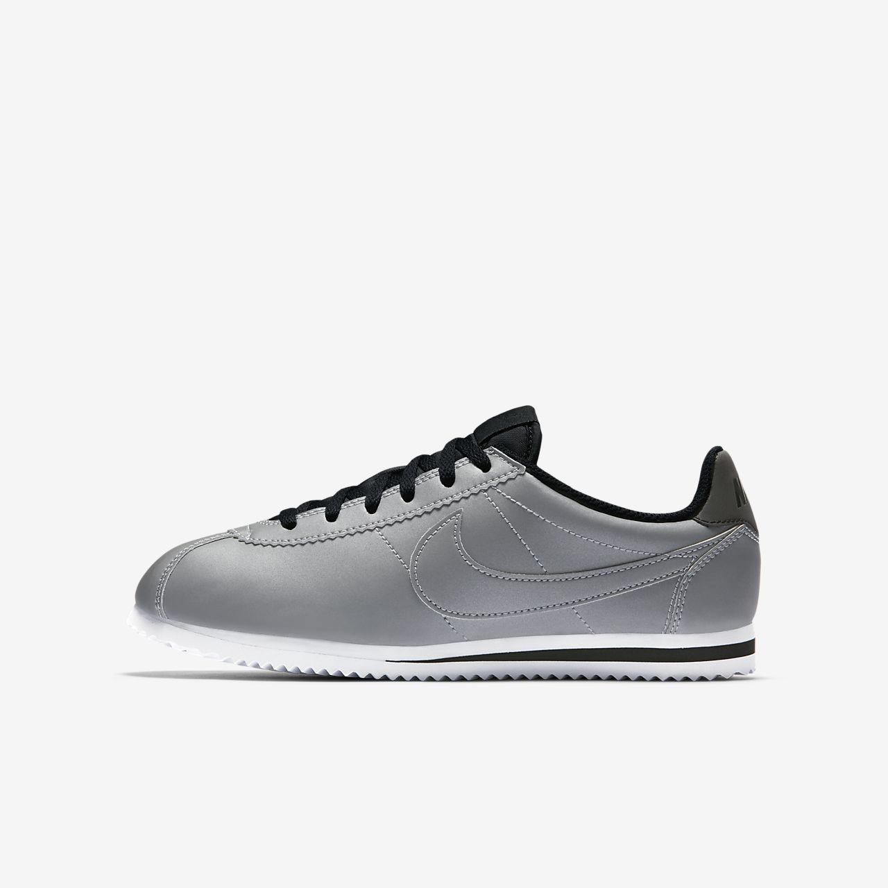 uk availability e584c d80c2 hot nike cortez siyah beyaz bac99 01e97  official nike cortez premium older  kids shoe 2816b f1689