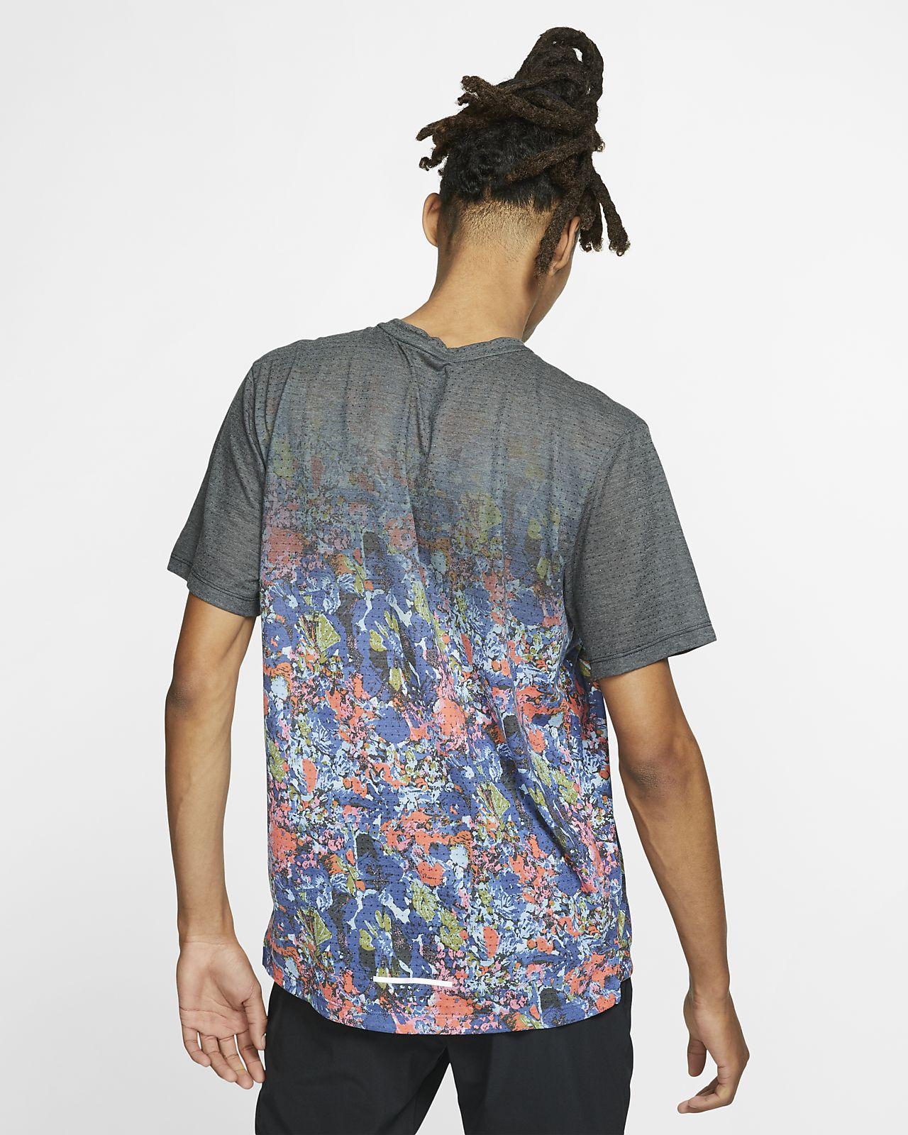 db492dd5b7ae Nike Rise 365 Men s Short-Sleeve Printed Running Top. Nike.com CA