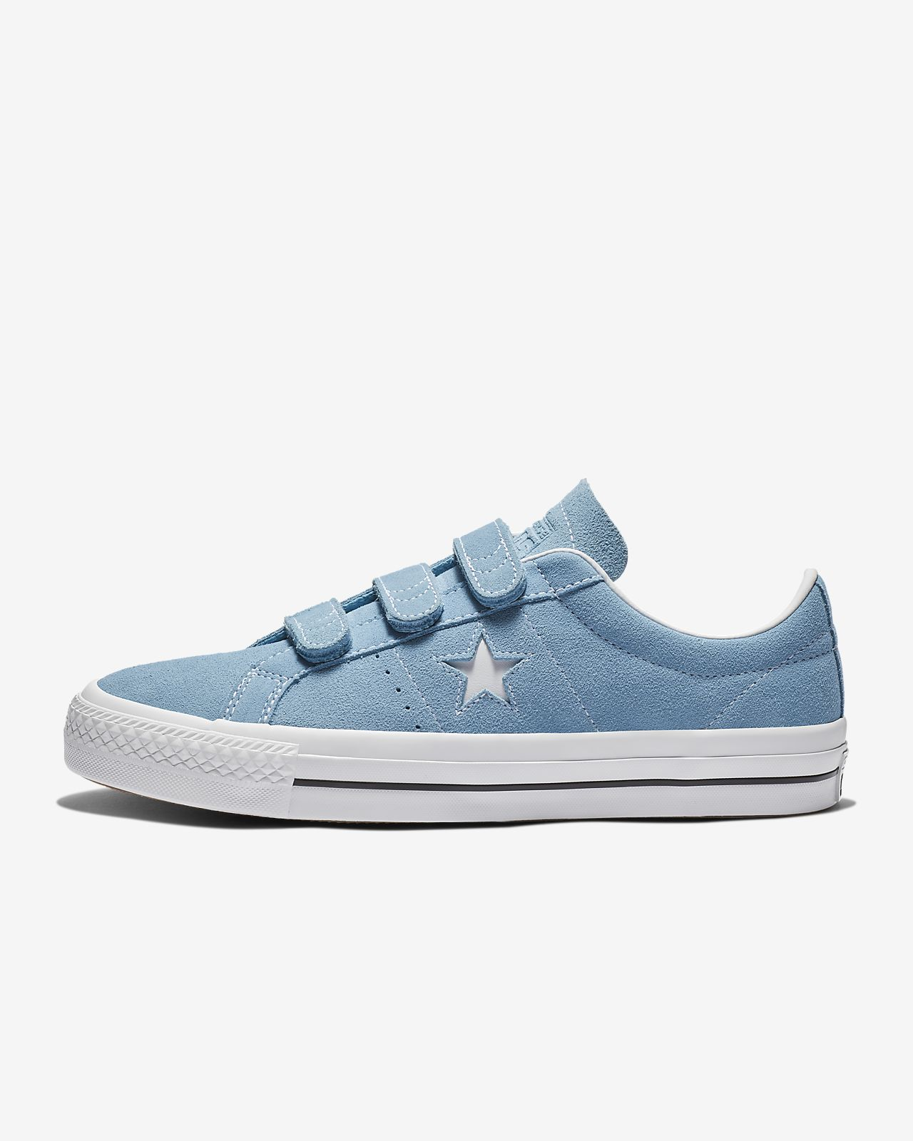322af93ae09 ... new zealand converse one star pro hook and loop suede low top unisex  skate shoe 78179