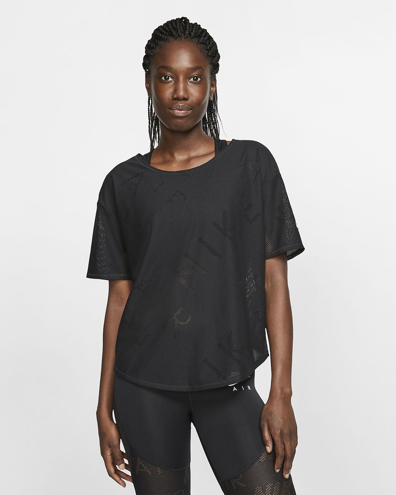 Женская беговая футболка с коротким рукавом Nike Air