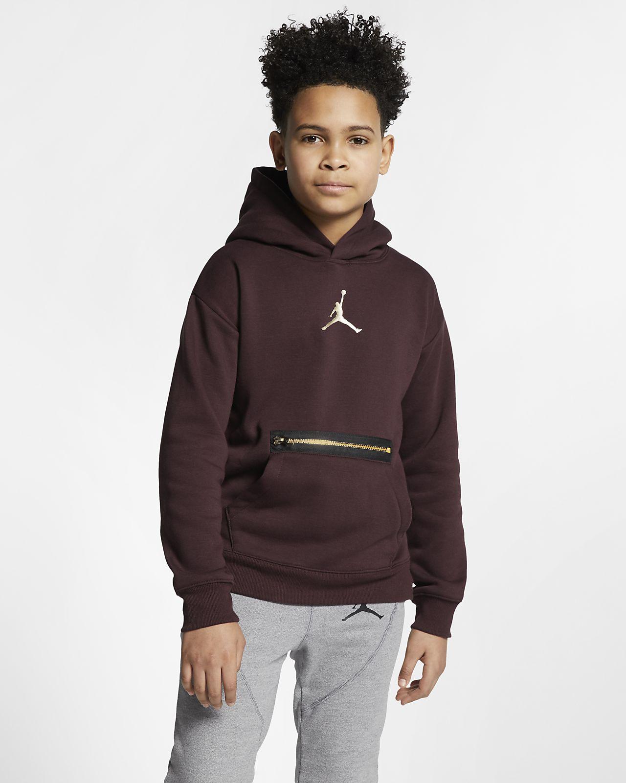 Felpa pullover con cappuccio Jordan - Ragazzi