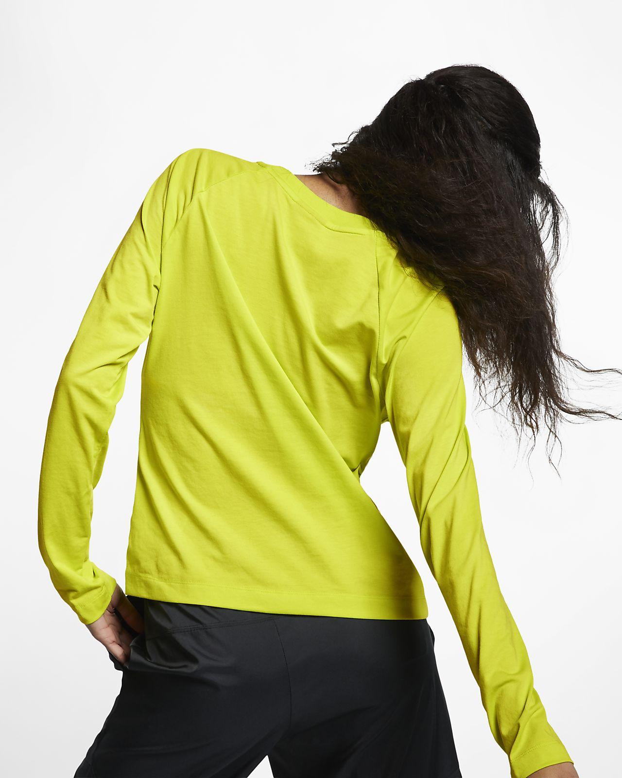 À Longues Haut Pour Manches Femme Swoosh Nike Sportswear GqUSVzMp