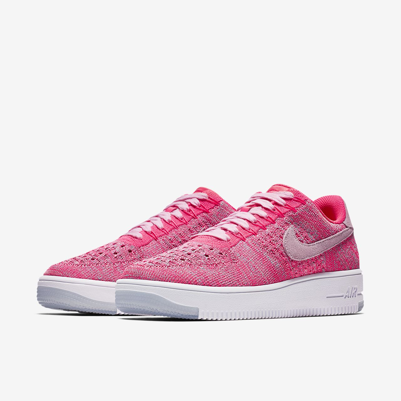 ... Chaussure Nike Air Force 1 Flyknit Low pour Femme