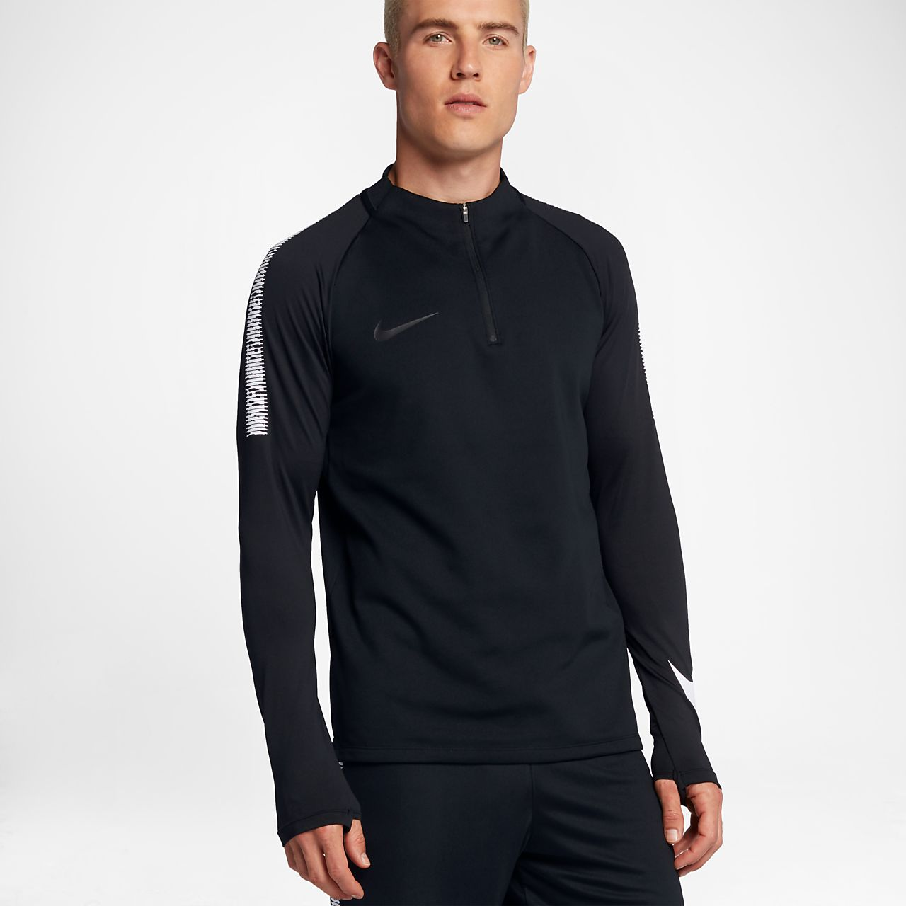 Nike - Football Training Squad Dry Drill - Top - Noir 859197-010 - NoirNIKE SPORTWEAR ultqLx8