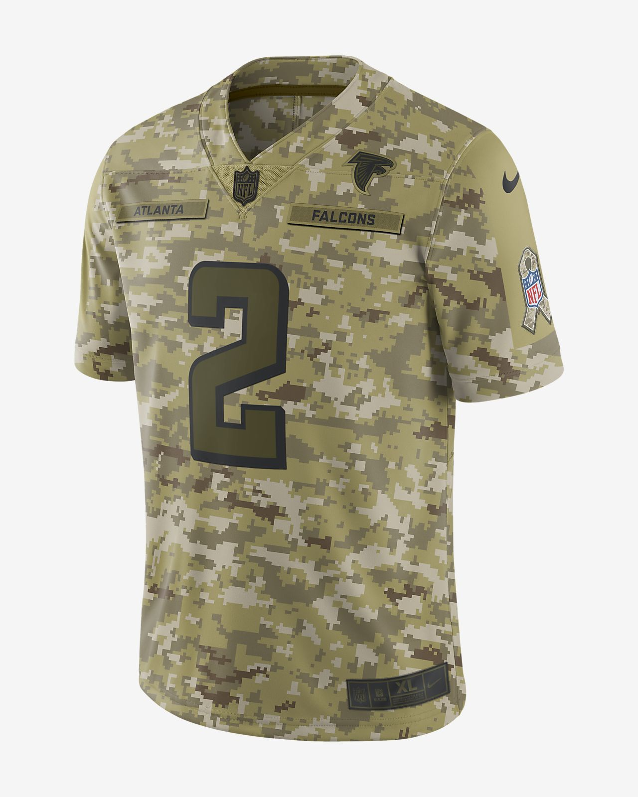 NFL Atlanta Falcons Salute to Service Limited Jersey (Matt Ryan ... 12e3f96a1