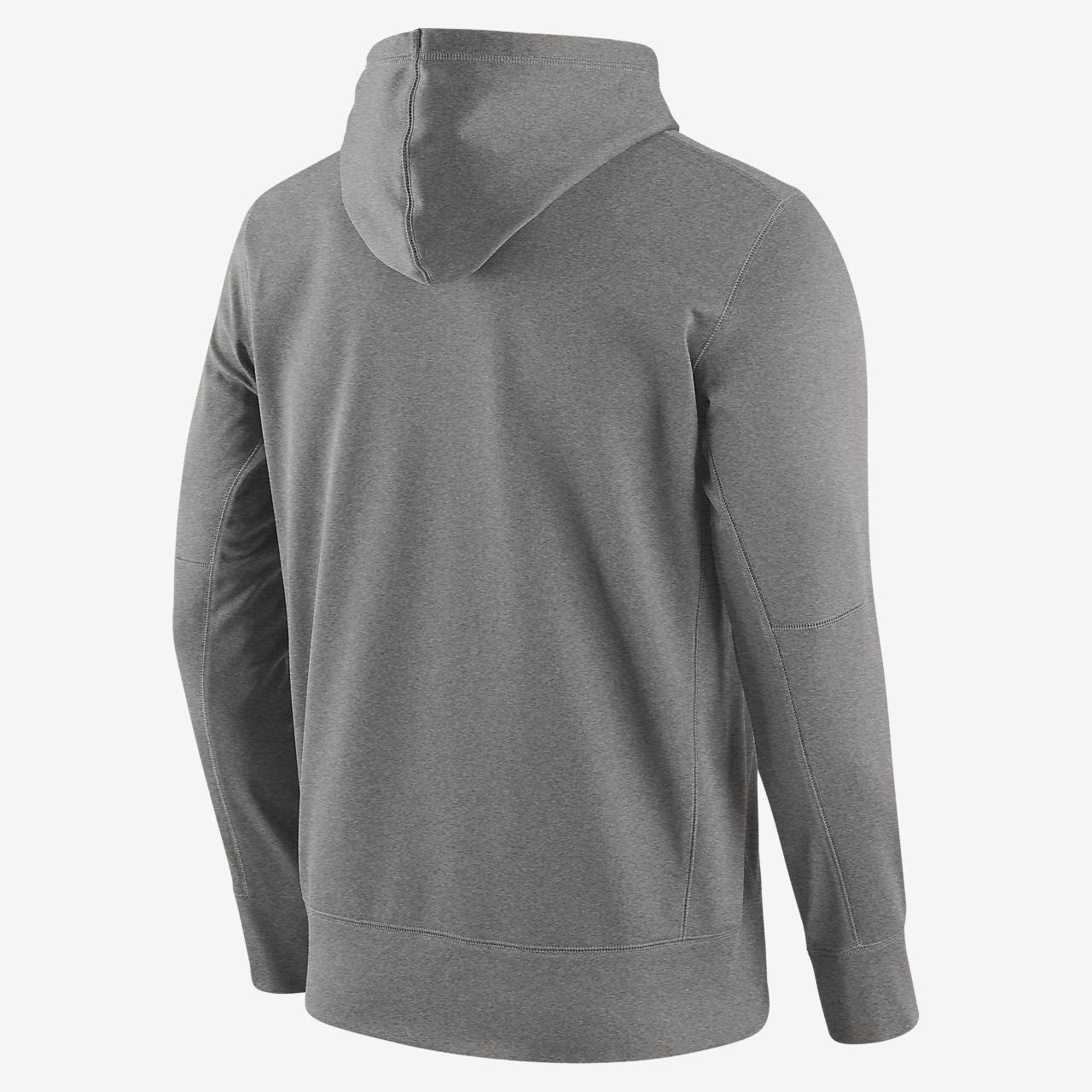 Męska bluza z kapturem Nike Fly Fleece (NFL Rams)