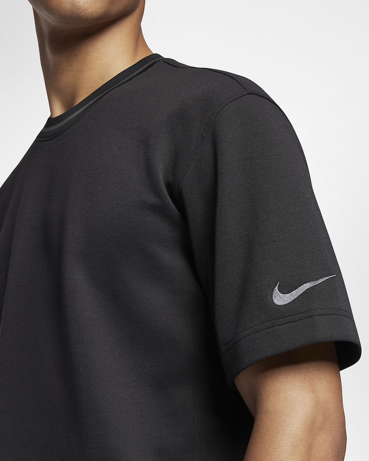 Black Top Short Sleeve  Nike  Tränings T-shirts