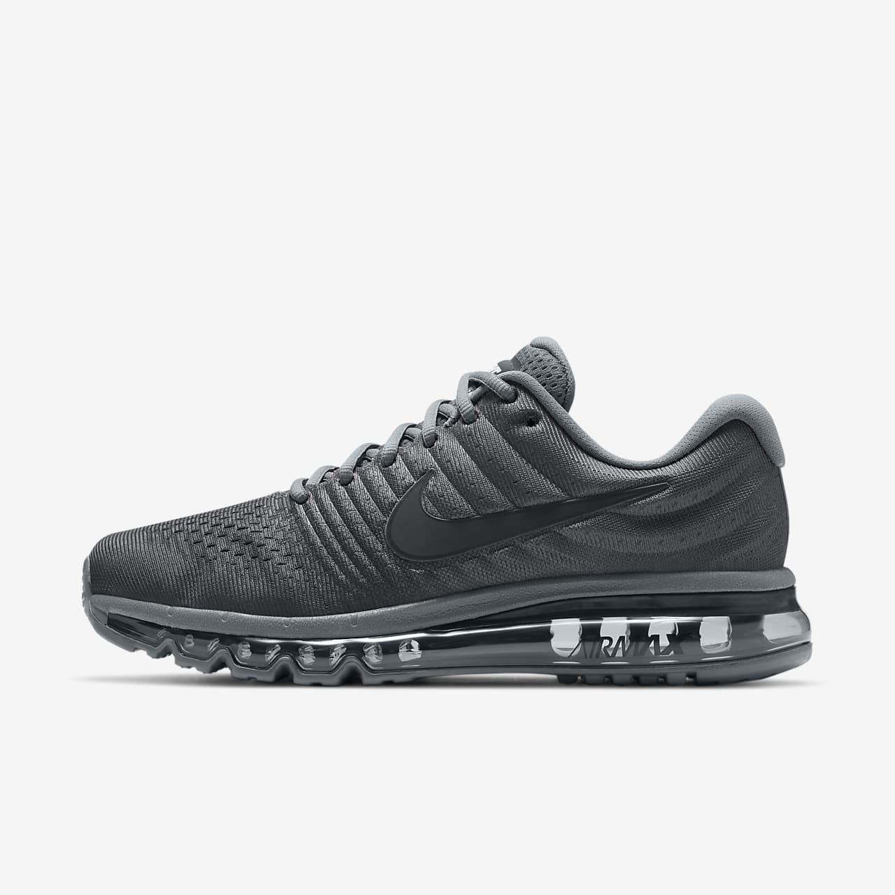 nike men's air max 1 essential trainers black/black 8.5 uk