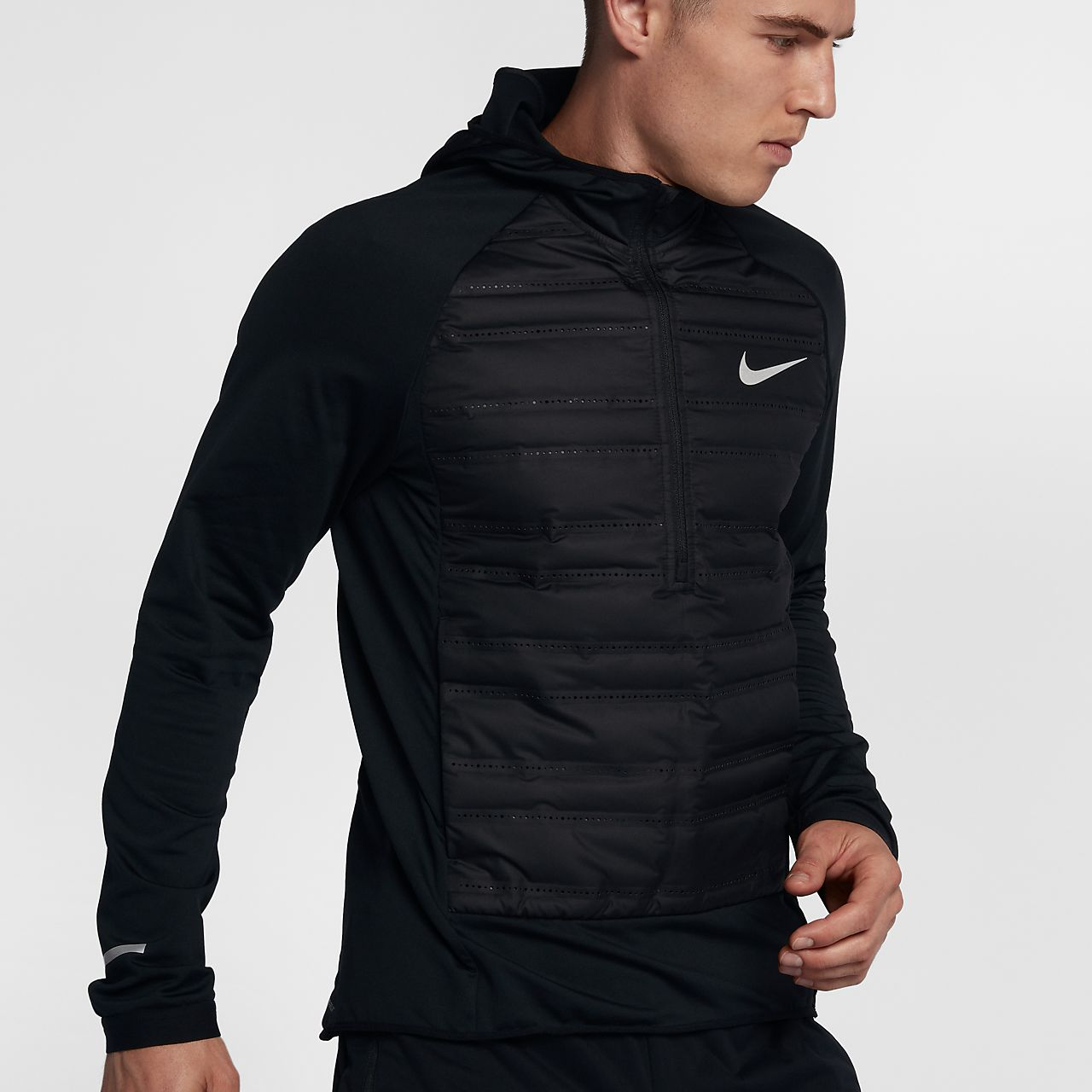 Nike Haut de runningà manches longues AeroLoft pour Homme 55ibbHf