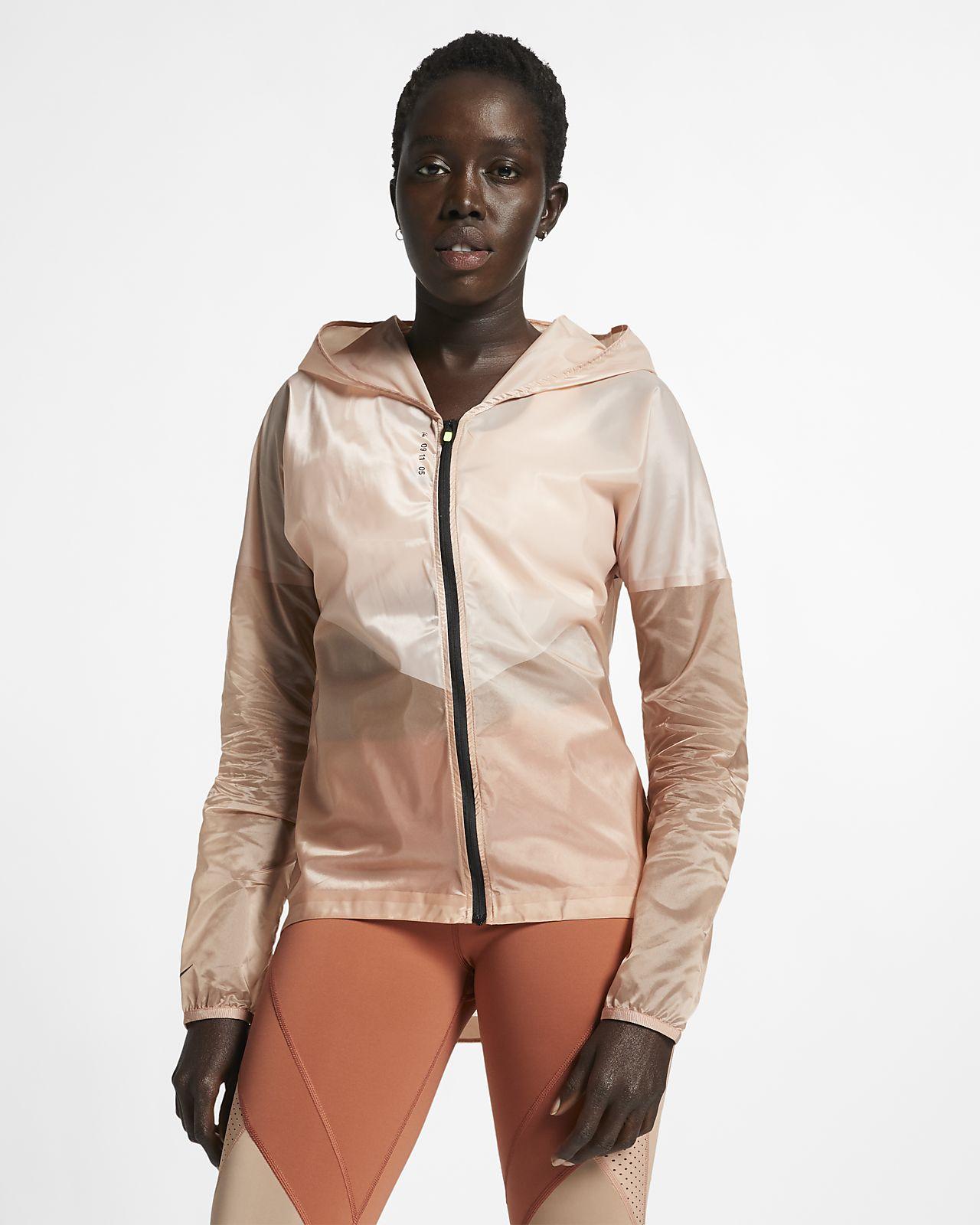 Damska kurtka z kapturem do biegania Nike Tech Pack