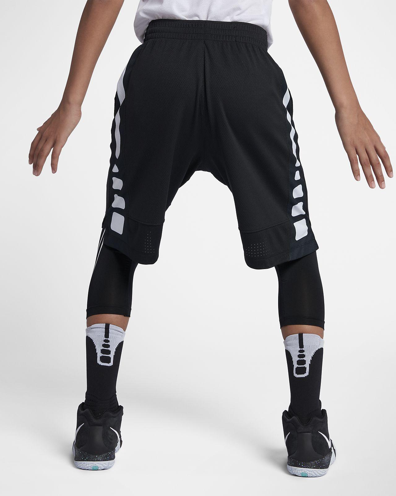 1d59a0e5d0f85d Nike Dri-FIT Elite Big Kids  (Boys ) Basketball Shorts. Nike.com