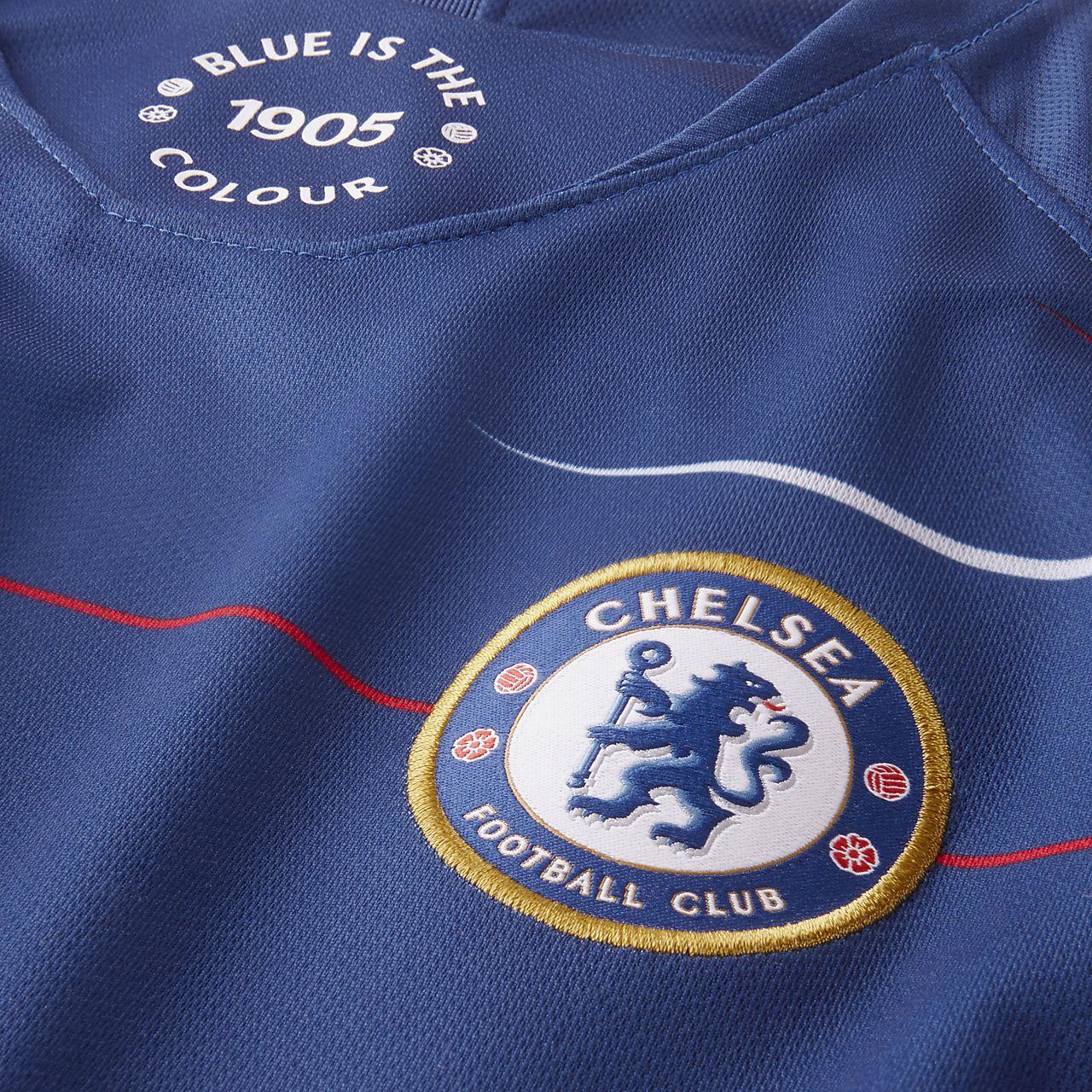 3ca1ec58811 2018 19 Chelsea FC Stadium Home Women s Football Shirt. Nike.com RO