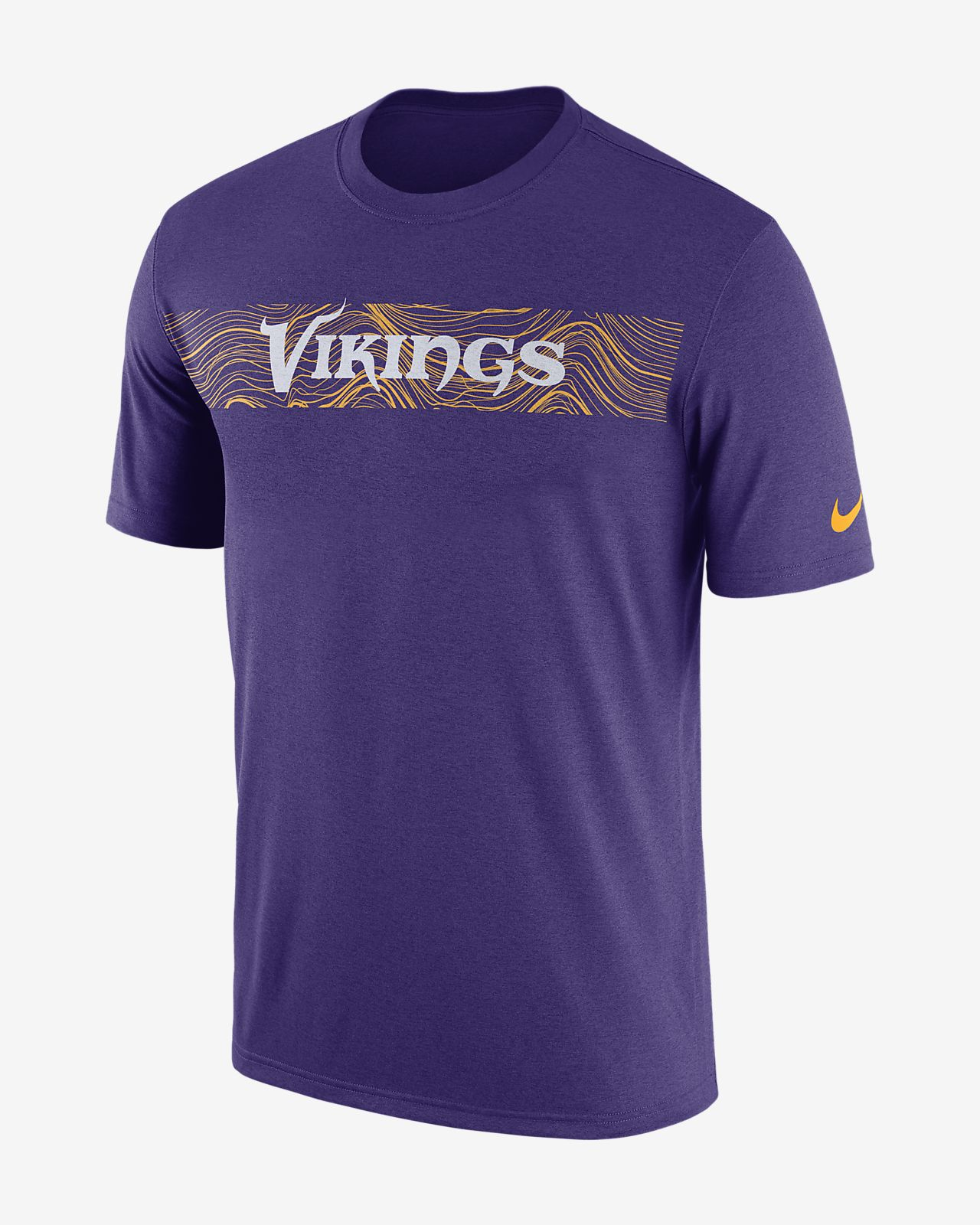 T-shirt Nike Dri-FIT Legend Seismic (NFL Vikings) para homem