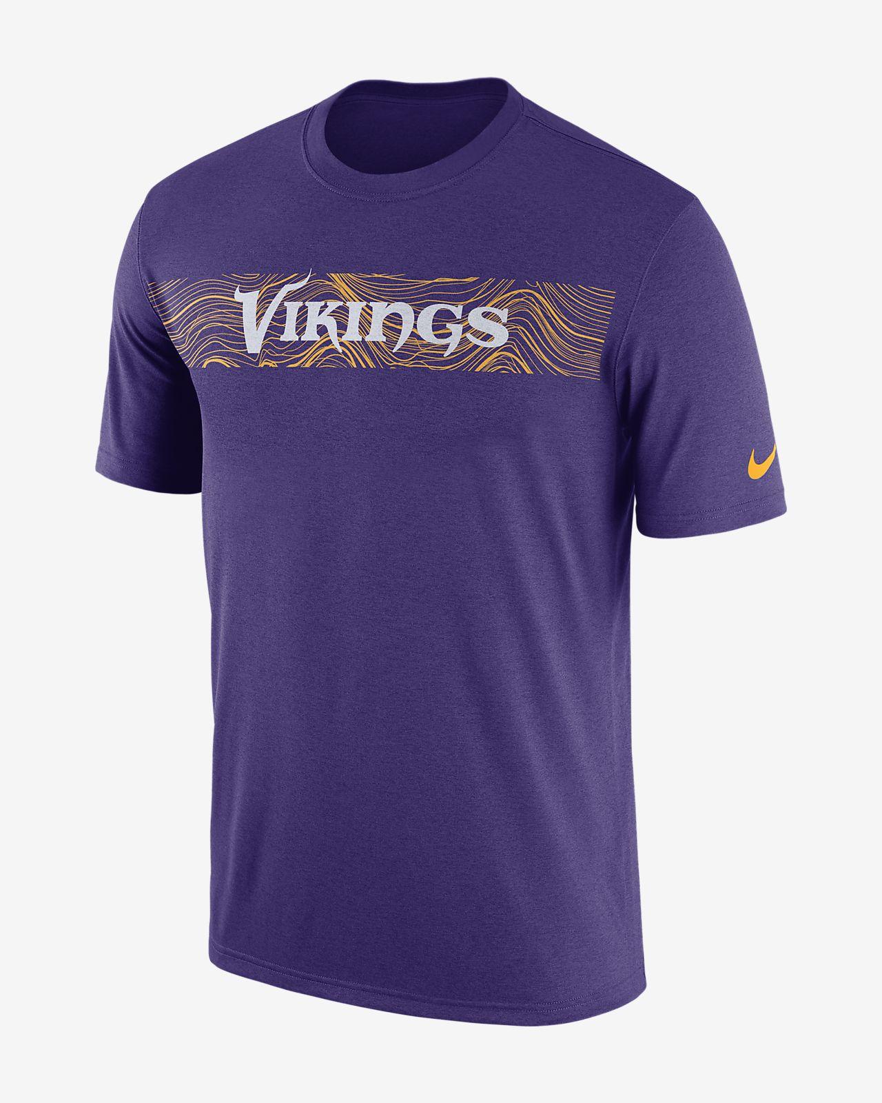 Tee-shirt Nike Dri-FIT Legend Seismic (NFL Vikings) pour Homme