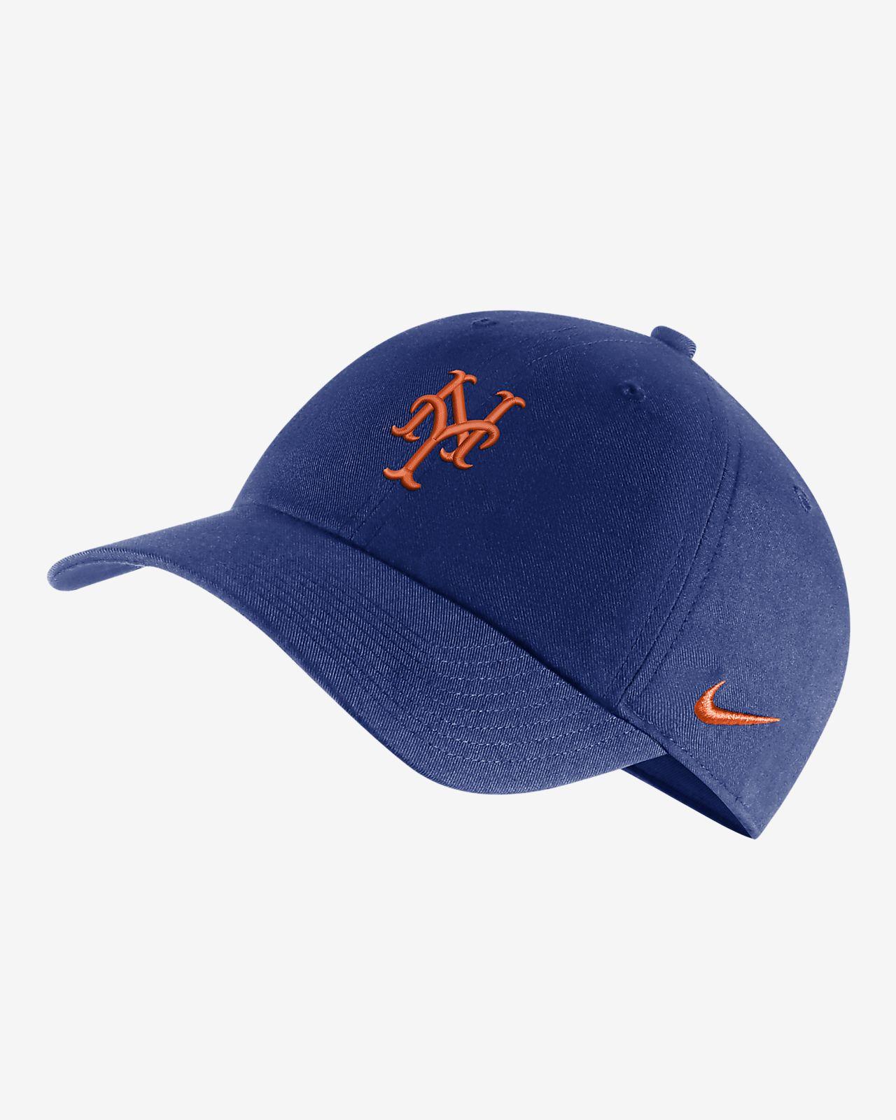 655b1f9fb72 Nike Heritage86 (MLB Mets) Hat. Nike.com
