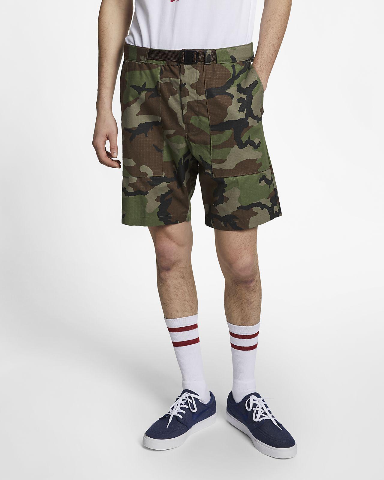 Nike SB-camo-skatershorts til mænd
