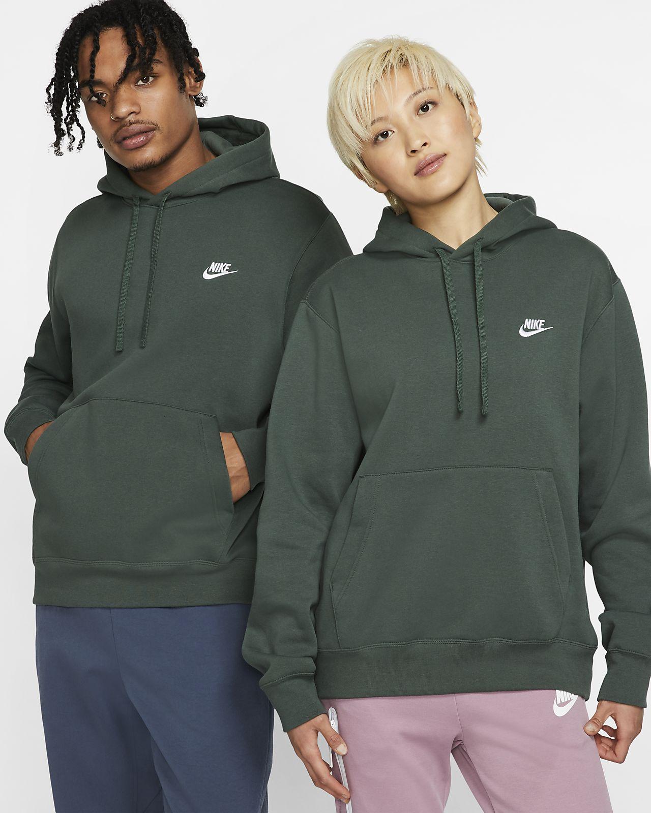 dessin de mode pour toute la famille matériau sélectionné Nike Sportswear Club Fleece Pullover Hoodie