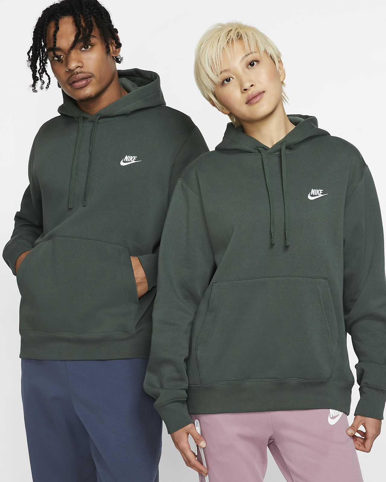 On Clearance cute fashion Nike Sportswear Club Fleece Pullover Hoodie